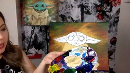 The Child - Free YouTube Live Paint Night - 'The Child'