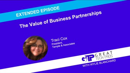 The Value of Business Partnerships (Extended Episode) - Traci Cox
