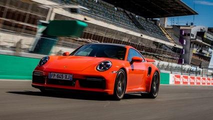Supertest Porsche 911 (Type 992) Turbo S (2020)