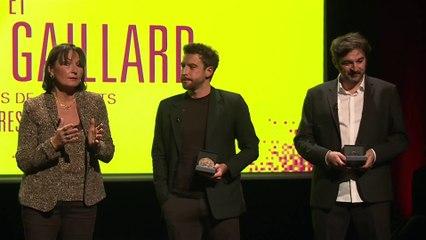 Sylvain Louvet et Ludovic Gaillard, lauréats 2020 du Prix Albert Londres de l'audiovisuel