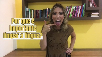 Estudos relacionam COVID-19 à higiene da língua; Bruna Conde explica o motivo!