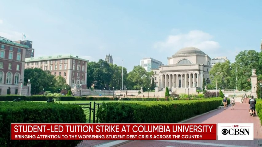 Columbia University students call for tuition strike, demand pandemic relief