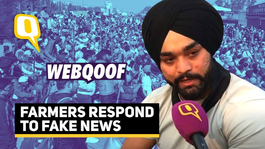 Misinformation Aimed to Discredit Our Protest: Farmers Respond to Fake News