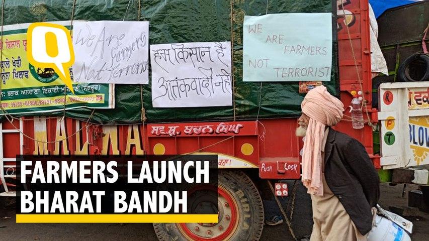 #BharatBandh: Heavy Security Deployment at Delhi Border