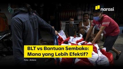 BLT vs Bantuan Sembako: Mana yang Lebih Efektif?   Narasi Newsroom
