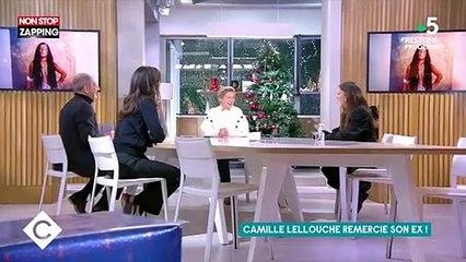 C à Vous : La réaction positive de l'ex de Camille Lellouche à son titre « Je remercie mon ex » (vidéo)