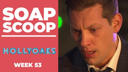 Hollyoaks Soap Scoop! New Year death mystery