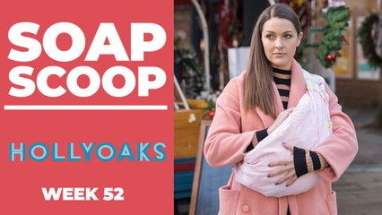 Hollyoaks Soap Scoop! Christmas storylines revealed
