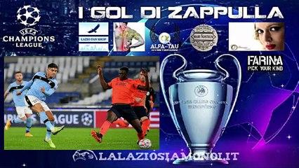 CHAMPIONS LEAGUE, LAZIO - BRUGES 2-2 - I GOL DI CORREA E IMMOBILE CON LE URLA DI ZAPPULLA!