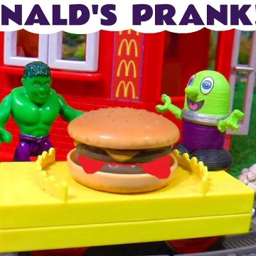 McDonalds Prank with Funny Funlings and Marvel Avengers Hulk with Thomas and Friends featuring a Dinosaur Toy for Kids in this Family Friendly Full Episode English Toy Story for Kids