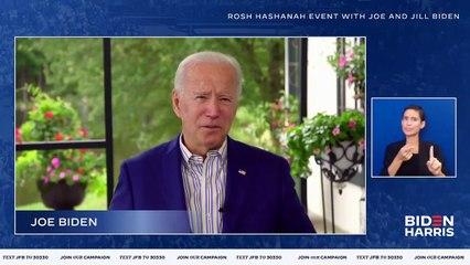 Joe Biden - Happy Rosh Hashanah Joe Biden Wishes Jewish Americans A Happy New Year