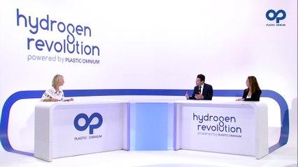 Plastic Omnium's vision & ambitions on hydrogen: Laurent Favre, Félicie Burelle