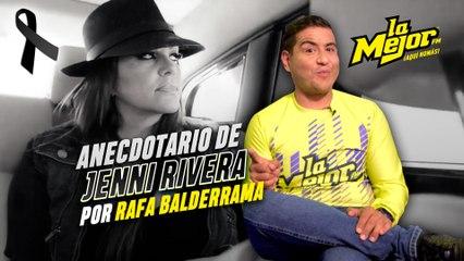 """Anecdotario de Rafita Balderrama con Jenni Rivera """"La Diva de la Banda"""""""