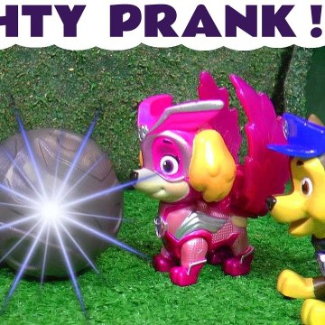 Paw Patrol Mighty Pups Charged Up Mighty Prank Video for Kids with the Funny Funlings and Marvel Avengers Hulk in this Family Friendly Full Episode English Toy Story for Kids from Kid Friendly Family Channel Toy Trains 4U