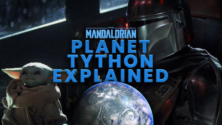 PLANET TYTHON EXPLAINED - The Mandalorian and Star Wars' Tython CONNECTION