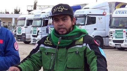 Suriye'ye 30 Tırlık Yardım Gönderildi