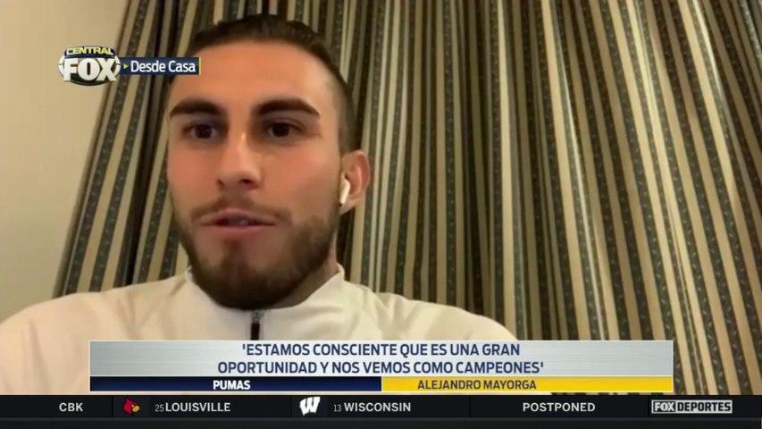 """""""Nos vemos como campeones"""", Alejandro Mayorga: Liga MX"""