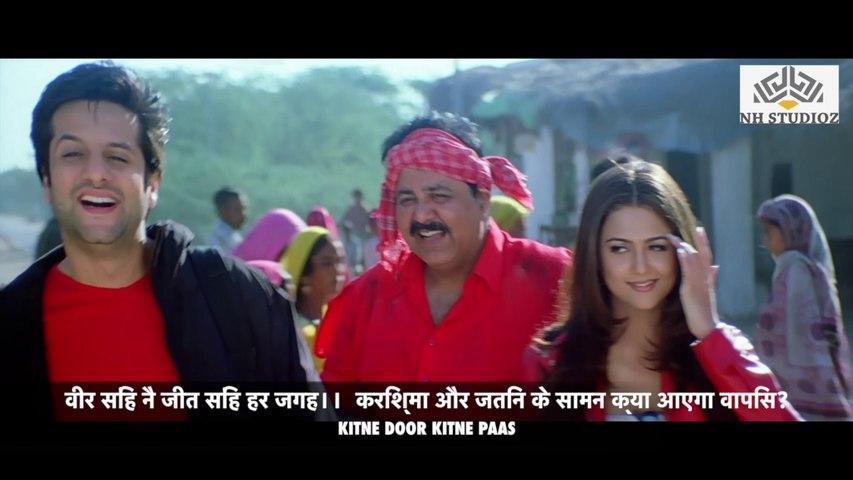 Fardeen Khan & Amrita Arora Miss  Scene   Kitne Door Kitne Paas (2002)   Fardeen Khan   Amrita Arora   Satish Shah   Funny Scene