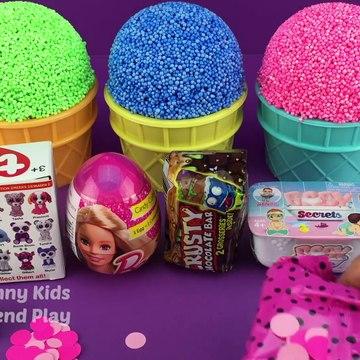 Play Foam Cups Surprise Toys LOL Chupa Chups Star Wars Barbie Surprise Eggs