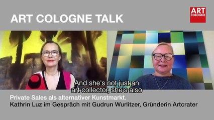 Art Cologne Talk: Gudrun Wurlitzer