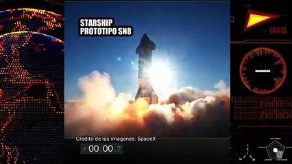 Prueba del prototipo SN8 de Starship de SpaceX