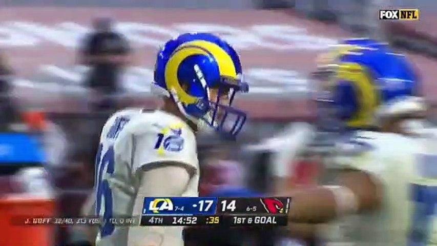 Arizona Cardinals vs. Los Angeles Rams FULL Highlights _ NFL Week 13 _ Season 2020-21 (4th)