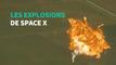 La dernière fusée de Space X a explosé, comme beaucoup d'autres avant elle