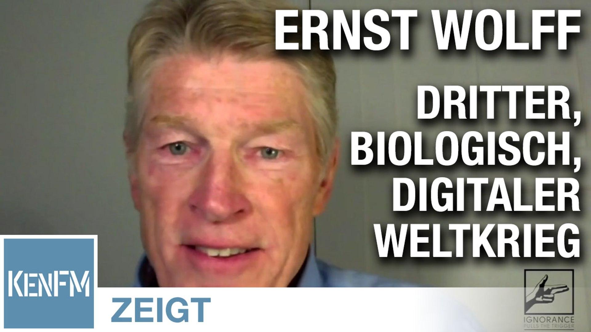Im Gespräch mit Ernst Wolff (The Wolff of Wall Street)