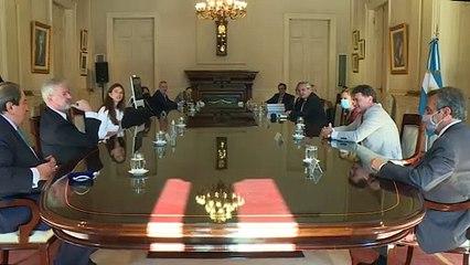Reunión de Alberto Fernández con el Consejo Consultivo