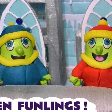 Frozen Funlings from Funny Funlings Toy Story Video for Kids with Thomas and Friends in this Family Friendly Full Episode English Stop Motion Story from Kid Friendly Family Channel Toy Trains 4U