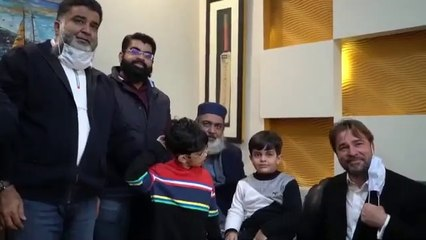 Ertugrul Ghazi Arrived in Pakistan Today