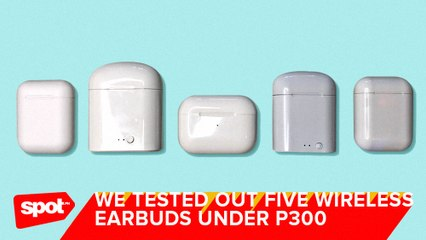 We Tested Out Five Wireless Earbuds Under P300