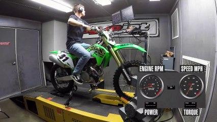 2021 Kawasaki KX450 Dyno Test