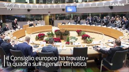 """Clima, taglio delle emissioni: """"L'Ue fa sul serio"""""""