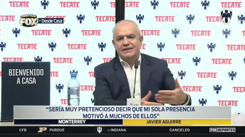 """Me siento preparado para hacerle frente"", Javier Aguirre: Liga MX"