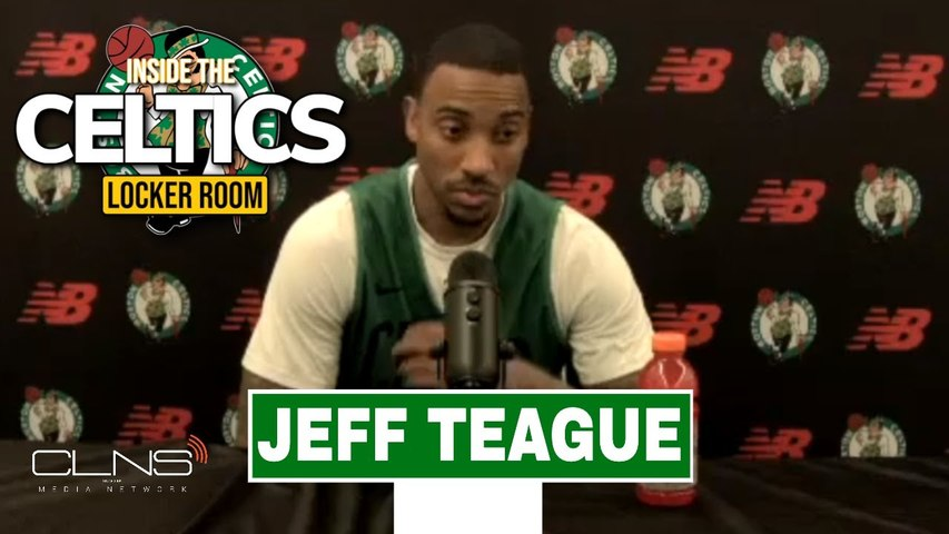 Jeff Teague on leading young Celtics