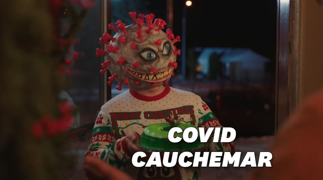 Le Covid-19 devient un personnage effrayant dans cette campagne de prévention canadienne