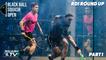 Squash:  CIB Black Ball Open 2020 - Men's Rd 1 Roundup [Pt.1]