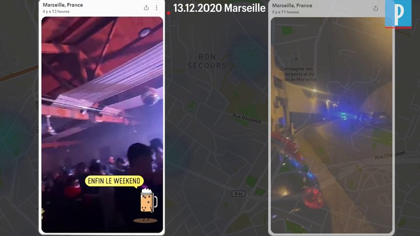 A Marseille, la police interrompt une fête clandestine de 500 personnes