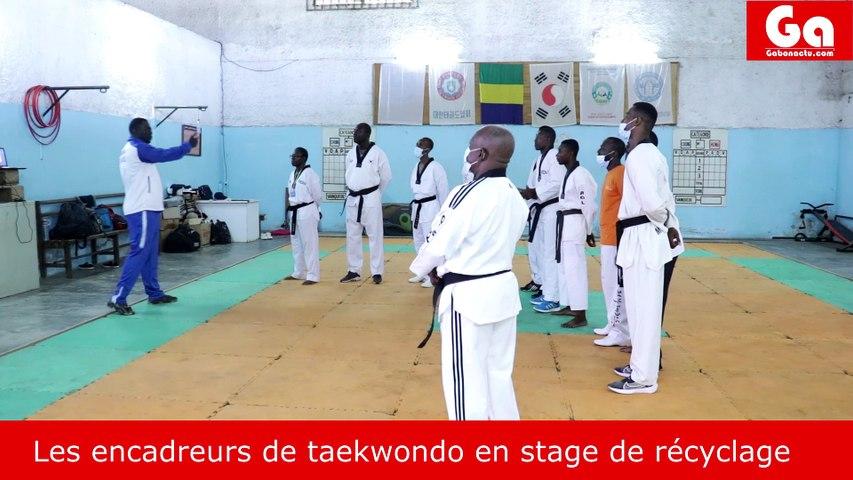 Me Mbembo M. au service du taekwondo
