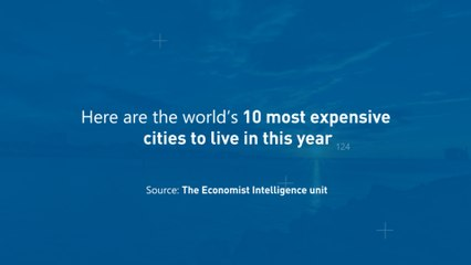 World's 10 Most Expensive Cities, 2020