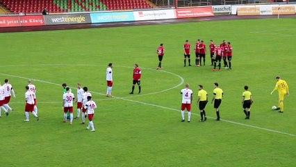 Rote Karte als Knackpunkt   Rot-Weiß Oberhausen – Preußen Münster (Regionalliga West)