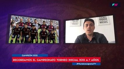San Lorenzo campeón del torneo inicial 2013