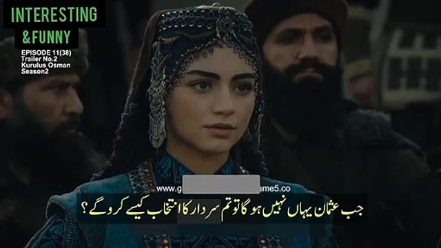 kurulus Osman season 2 kurulus Osman season 2 episode 38 trailer 2 with Urdu subtitles