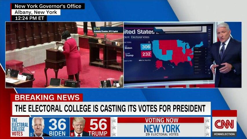 Watch the historic moment Georgia's 16 electors vote for President-elect Joe Biden