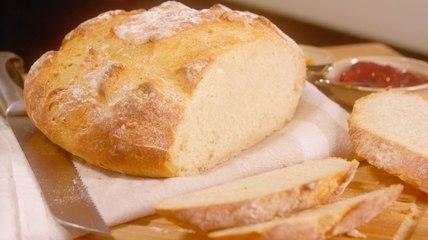 La recette simple et rapide du pain de campagne maison
