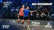 Squash: CIB Black Ball Open 2020 - Men's Rd 1 Roundup [Pt.3]