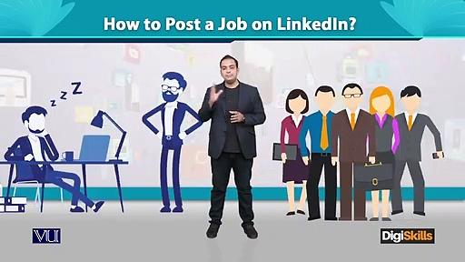087 – Digital Marketing – Post a Job on LinkedIn