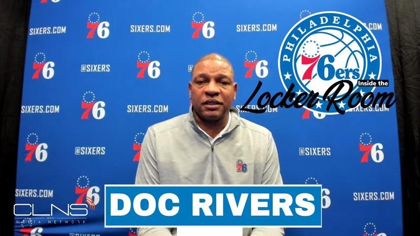 Doc Rivers Pregame Interview vs Celtics