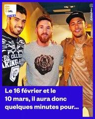 La réaction de Neymar après avoir appris qu'il retrouverait Messi en LDC   Oh My Goal